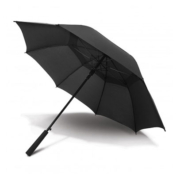 11011 Swiss Peak Tornado Umbrella - Black