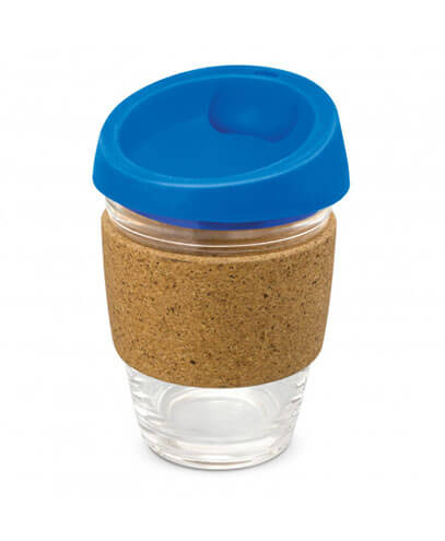 113053 Metro Cup - Royal Blue with Cork Band