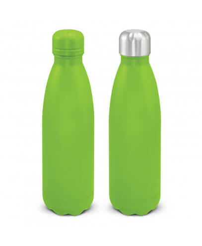 116329 Mirage Powder Coated Vacuum Bottle - Bright Green