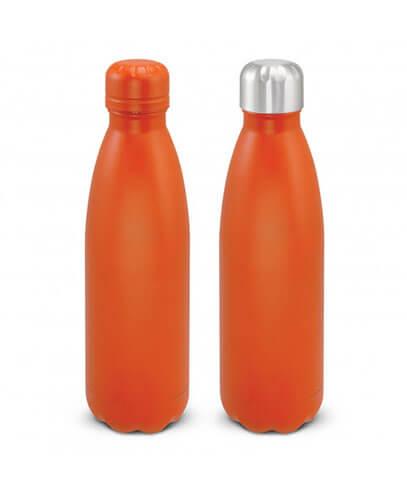 116329 Mirage Powder Coated Vacuum Bottle - Orange