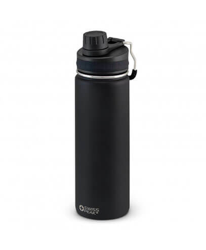 118113 Swiss Peak Vacuum Bottle - Black