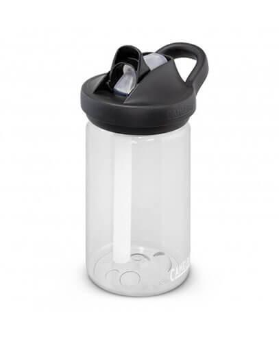 118576 CamelBak Eddy+ Kids Bottle - Clear with Black Lid