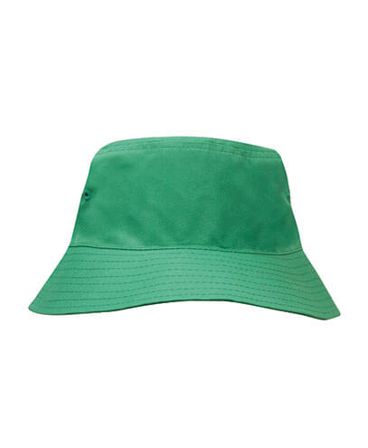 3940 Youth Breathable Poly Twill Bucket Hat - Emerald