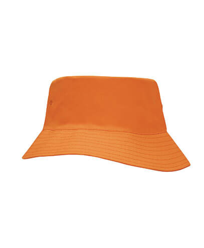 3940 Youth Breathable Poly Twill Bucket Hat - Orange