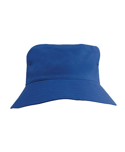3940 Youth Breathable Poly Twill Bucket Hat - Royal
