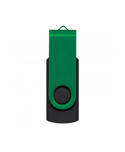105604 Helix 4GB Mix & Match Flash Drive - Green