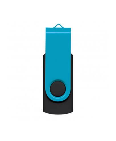 105604 Helix 4GB Mix & Match Flash Drive - Light Blue
