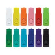 105604 Helix 4GB Mix & Match Flash Drive - Matched Colours