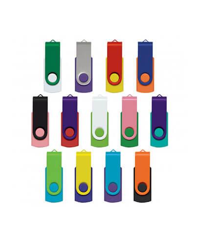 105604 Helix 4GB Mix & Match Flash Drive - Mixed Colours
