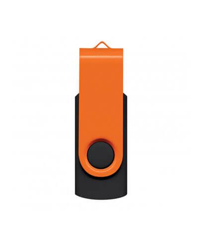 105604 Helix 4GB Mix & Match Flash Drive - Orange