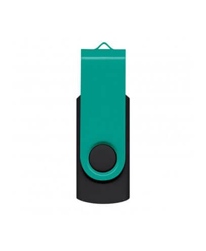 105604 Helix 4GB Mix & Match Flash Drive - Teal