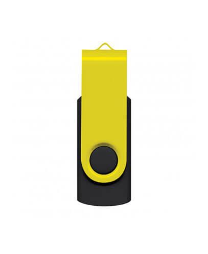 105604 Helix 4GB Mix & Match Flash Drive - Yellow