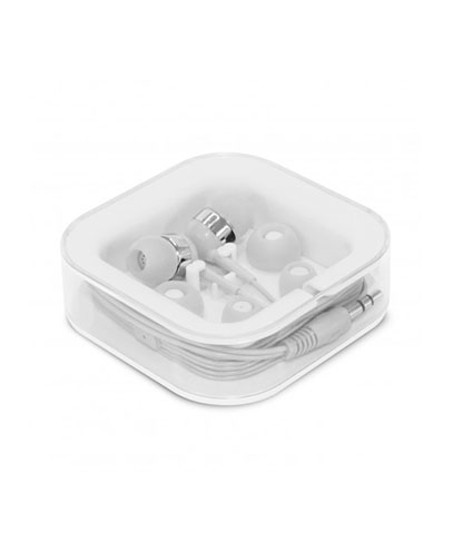 106932 Helio Earbuds - White