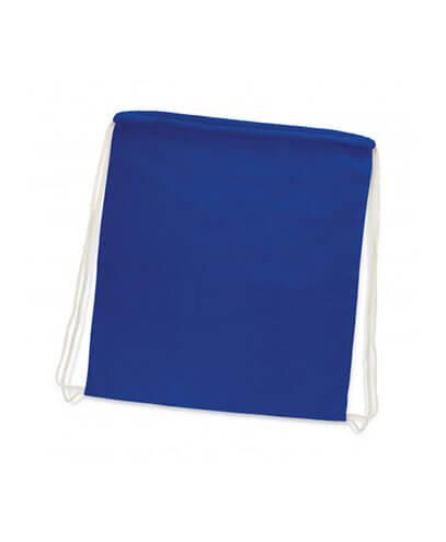 111804 Cotton Drawstring Backpack - Royal