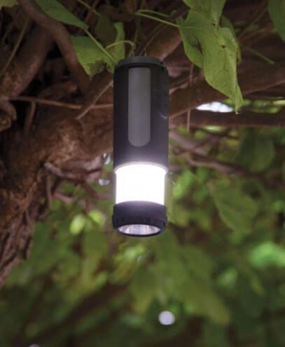 112163 Swiss Peak 4-in-1 Speaker - Torch Example