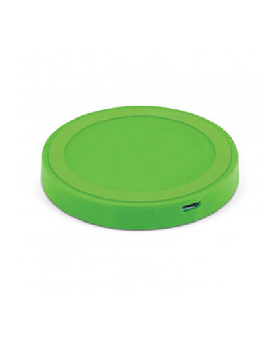 112656 Orbit Wireless Charger - Bright Green