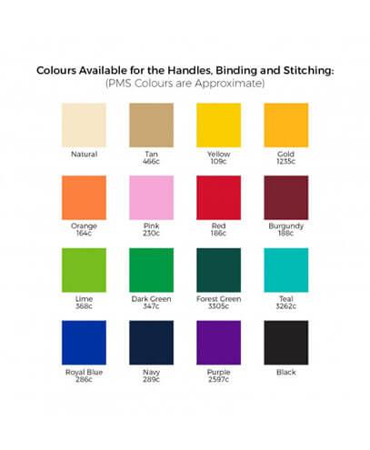 112920 Rembrandt Cotton Tote B112920 Rembrandt Cotton Tote Bag - Handles Colour Options