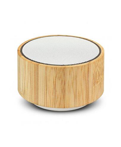 116648 Bamboo Bluetooth Speaker - Natural