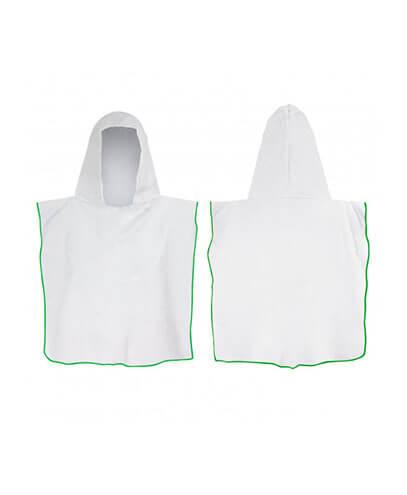 117465 Kids Hooded Towel - Green