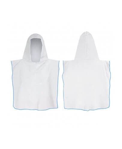 117465 Kids Hooded Towel - Light Blue