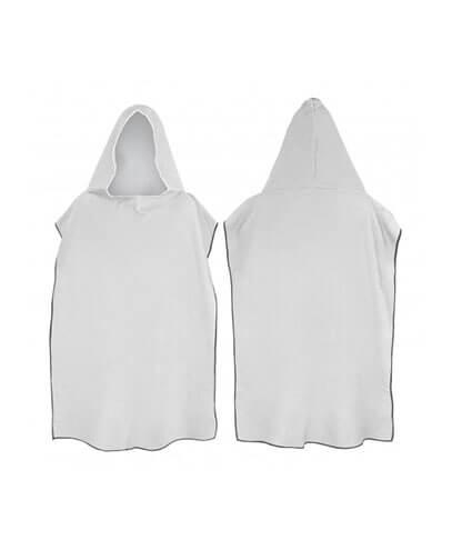 117466 Adult Hooded Towel - Black