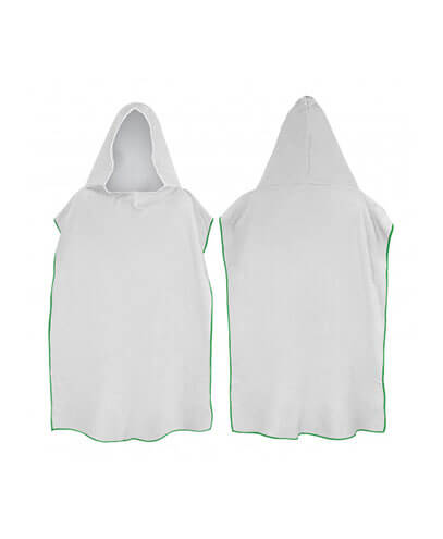 117466 Adult Hooded Towel - Green