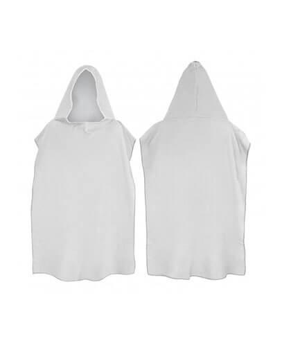 117466 Adult Hooded Towel - Grey