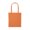 B109 Long Handled Calico Bag - Orange