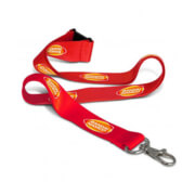 105804 Colour Max Lanyard - Branded Example