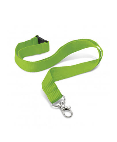 108057 Encore Lanyard - Bright Green