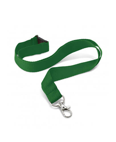 108057 Encore Lanyard - Dark Green