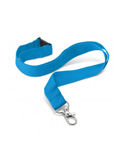 108057 Encore Lanyard - Light Blue