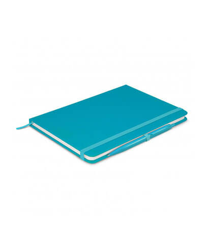 108827 Omega Notebook With Pen - Light Blue