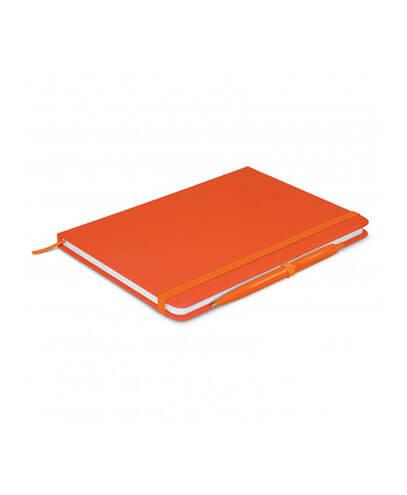 108827 Omega Notebook With Pen - Orange