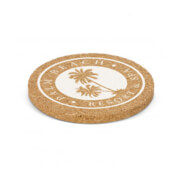 112967 Oakridge Cork Coaster - Branded Example