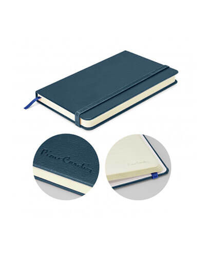 113314 Pierre Cardin Small Notebook - Blue