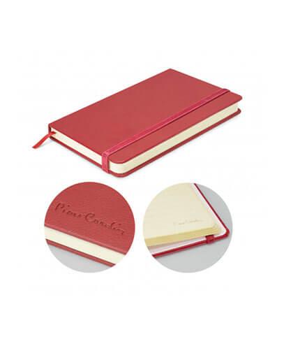 113314 Pierre Cardin Small Notebook - Burgundy