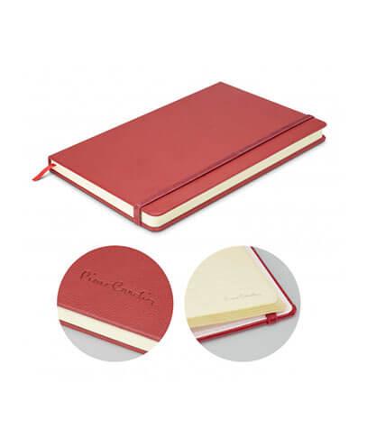 113319 Pierre Cardin Medium Notebook - Burgundy