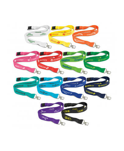 116608 Bamboo Lanyard - Branded Examples