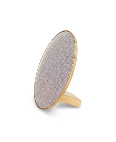 POLDBS Lounge Disc Bluetooth Speaker - Beige Heather